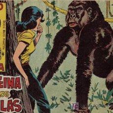 Tebeos: RAYO DE LA SELVA - Nº 12 - LA REINA DE LOS GORILAS - EDITORIAL MAGA - ORIGINAL DE 1960. Lote 23499183
