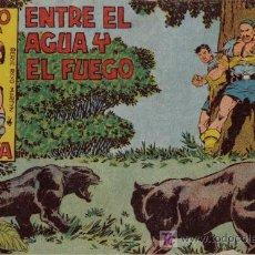 Tebeos: RAYO DE LA SELVA - Nº 15 - ENTRE EL AGUA Y EL FUEGO - EDITORIAL MAGA - ORIGINAL DE 1960. Lote 16091947