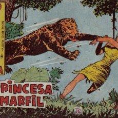 Tebeos: RAYO DE LA SELVA - Nº 18 - LA PRINCESA DEL MARFIL - EDITORIAL MAGA - ORIGINAL DE 1960. Lote 16091984