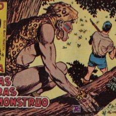 Tebeos: RAYO DE LA SELVA - Nº 21 - EN LAS GARRAS DEL MONSTRUO - EDITORIAL MAGA - ORIGINAL DE 1960. Lote 16092039