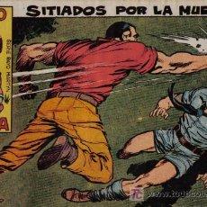 Tebeos: RAYO DE LA SELVA - Nº 25 - SITIADOS POR LA MUERTE - EDITORIAL MAGA - ORIGINAL DE 1960. Lote 16092096