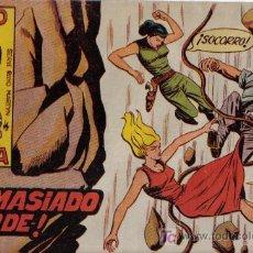 Tebeos: RAYO DE LA SELVA - Nº 31 - ¡DEMASIADO TARDE! - EDITORIAL MAGA - ORIGINAL DE 1960. Lote 16092173