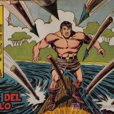 Tebeos: RAYO DE LA SELVA - Nº 32 - LOS OJOS DEL DIABLO - EDITORIAL MAGA - ORIGINAL DE 1960. Lote 16092185