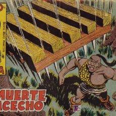 Tebeos: RAYO DE LA SELVA - Nº 34 - LA MUERTE AL ACECHO - EDITORIAL MAGA - ORIGINAL DE 1960. Lote 16092202