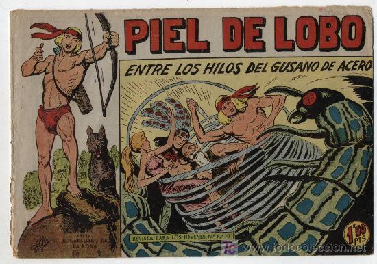 PIEL DE LOBO Nº 57. (Tebeos y Comics - Maga - Piel de Lobo)