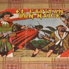 Tebeos: EL CAPITÁN DON NADIE Nº 1. ED. MAGA. 1,25 PTS. ORIGINAL Y MUY DIFÍCIL!!!!!!!. Lote 17347506