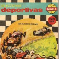 Tebeos: SELECCIONES DEPORTIVAS MAGA Nº 9 EDITORIAL MAGA 1963. Lote 26057803