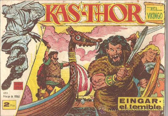 KAS-THOR Nº 1 EDITORIAL MAGA 1963 (Tebeos y Comics - Maga - Otros)