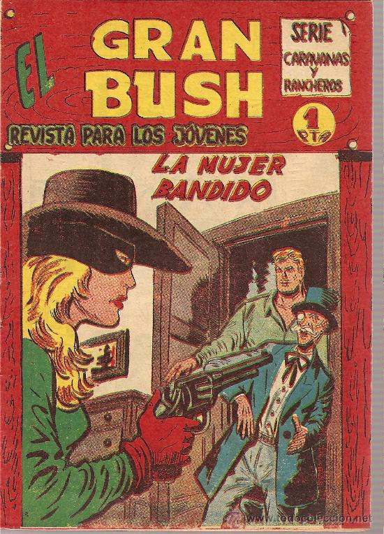 EL GRAN BUSH Nº 21 EDITORIAL MAGA 1962 (Tebeos y Comics - Maga - Otros)
