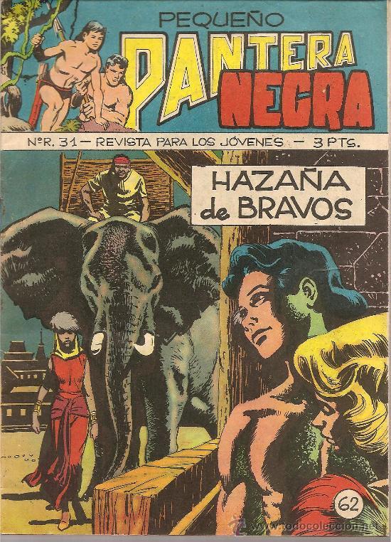 PEQUEÑO PANTERA NEGRA DE 3 PTS Nº 62 EDITORIAL MAGA (Tebeos y Comics - Maga - Pantera Negra)