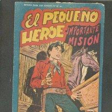 Tebeos: EL PEQUEÑO HEROE Nº 113,EDITORIAL MAGA. Lote 47415642