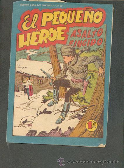 EL PEQUEÑO HEROE Nº 83,EDITORIAL MAGA (Tebeos y Comics - Maga - Pequeño Héroe)