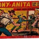 Tebeos: TONY Y ANITA ORIGINAL, ULTIMO Nº, 153 MUY DIFICIL, VER CONTRAPORTADA. Lote 22664582