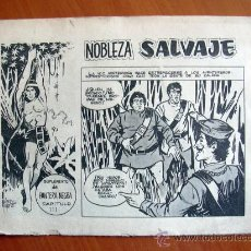 Tebeos: NOBLEZA SALVAJE Nº 3 - SUPLEMENTO DE LA REVISTA PANTERA NEGRA - EDITORIAL MAGA. Lote 18165474