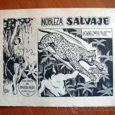 Tebeos: NOBLEZA SALVAJE Nº 4 - SUPLEMENTO DE LA REVISTA PANTERA NEGRA - EDITORIAL MAGA. Lote 18165501