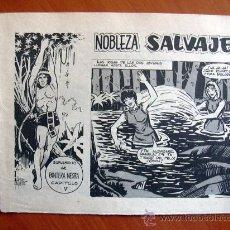 Tebeos: NOBLEZA SALVAJE Nº 5 - SUPLEMENTO DE LA REVISTA PANTERA NEGRA - EDITORIAL MAGA. Lote 18165515