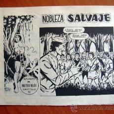 Tebeos: NOBLEZA SALVAJE Nº 6 - SUPLEMENTO DE LA REVISTA PANTERA NEGRA - EDITORIAL MAGA. Lote 18165526