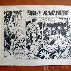 Tebeos: NOBLEZA SALVAJE Nº 7 - SUPLEMENTO DE LA REVISTA PANTERA NEGRA - EDITORIAL MAGA. Lote 18165555