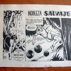 Tebeos: NOBLEZA SALVAJE Nº 9 - SUPLEMENTO DE LA REVISTA PANTERA NEGRA - EDITORIAL MAGA. Lote 18165576