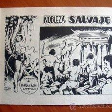 Tebeos: NOBLEZA SALVAJE Nº 10, EL ÚLTIMO - SUPLEMENTO DE LA REVISTA PANTERA NEGRA - EDITORIAL MAGA. Lote 18165626