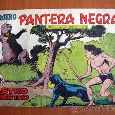 Tebeos: PEQUEÑO PANTERA NEGRA Nº 199 - EDITORIAL MAGA 1960. Lote 18172272