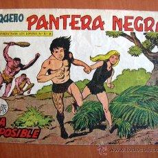 Tebeos: PEQUEÑO PANTERA NEGRA Nº 201 - EDITORIAL MAGA 1960. Lote 18173023