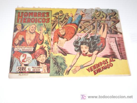HOMBRES HEROICOS Nº 3 MAGA ORIGINAL (Tebeos y Comics - Maga - Otros)