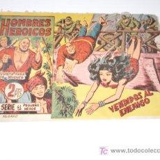 Tebeos: HOMBRES HEROICOS Nº 3 MAGA ORIGINAL. Lote 27482940