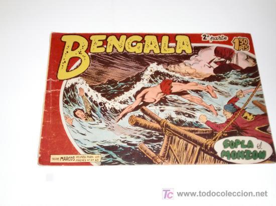 BENGALA II Nº 4 ORIGINAL (Tebeos y Comics - Maga - Bengala)