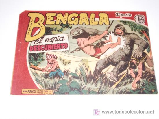 BENGALA II Nº 10 ORIGINAL (Tebeos y Comics - Maga - Bengala)