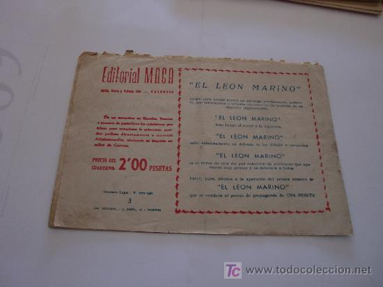 Tebeos: HOMBRES HEROICOS Nº 3 MAGA ORIGINAL - Foto 2 - 27482940