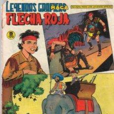 Tebeos: FLECHA ROJA Nº 59 + COMIC EN EL INTERIOR - AÑO 1962. Lote 21545758