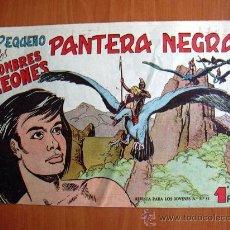 Tebeos: PEQUEÑO PANTERA NEGRA Nº 127 - EDITORIAL MAGA 1960. Lote 18274309