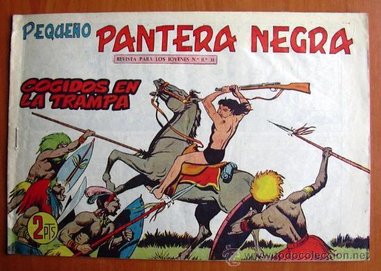 PEQUEÑO PANTERA NEGRA Nº 296 - EDITORIAL MAGA 1960 (Tebeos y Comics - Maga - Pantera Negra)