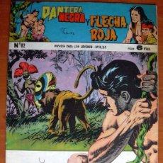 Tebeos: PANTERA NEGRA Y FLECHA ROJA Nº 82 - EDITORIAL MAGA 1962. Lote 18315322
