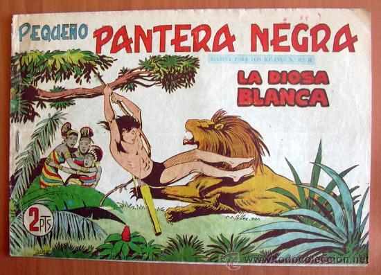 PEQUEÑO PANTERA NEGRA Nº 231 - EDITORIAL MAGA 1960 (Tebeos y Comics - Maga - Pantera Negra)