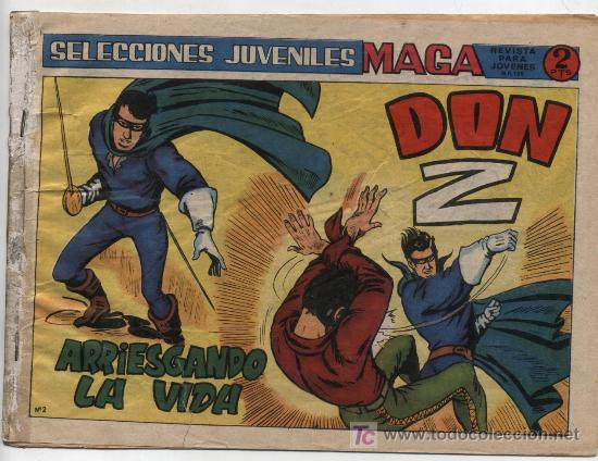 DON Z 2ª Nº 2. (Tebeos y Comics - Maga - Don Z)