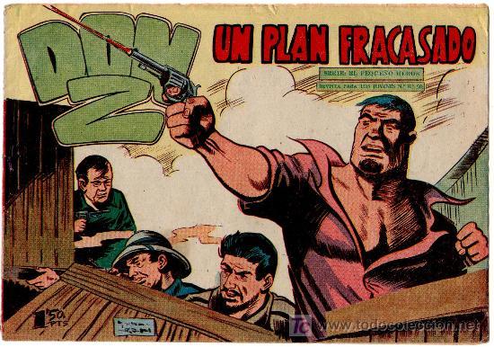 DON Z Nº 41, EDI. MAGA 1959, SERCHIO, ORIGINAL (Tebeos y Comics - Maga - Don Z)