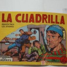 Tebeos: CUADRILLA Nº 6 MAGA ORTIZ ORIGINAL . Lote 26054605