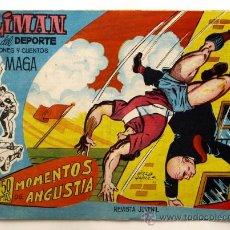Tebeos: OLIMAN AS DEL DEPORTE Nº 11 - - MOMENTOS DE ANGUSTIA -. Lote 19246126
