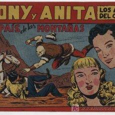 Tebeos: TONY Y ANITA Nº 72. SIN ABRIR. Lote 20074546