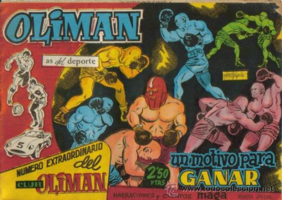 NUMERO EXTRAORDINARIO DEL CLUB DE OLIMAN (MAGA) ORIGINALES 1963 (Tebeos y Comics - Maga - Oliman)