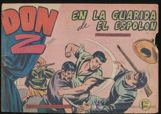 DON Z Nº 9. (Tebeos y Comics - Maga - Don Z)