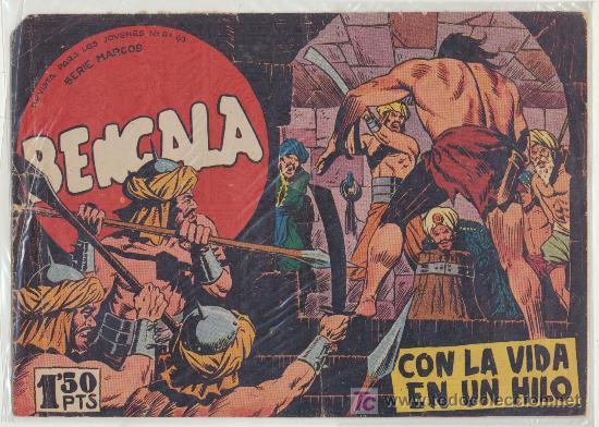BENGALA Nº 20. (Tebeos y Comics - Maga - Bengala)