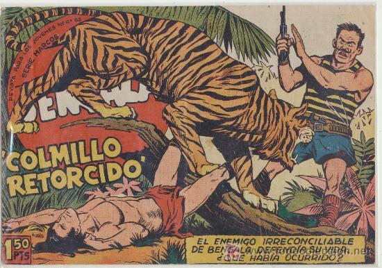 BENGALA Nº 16. (Tebeos y Comics - Maga - Bengala)