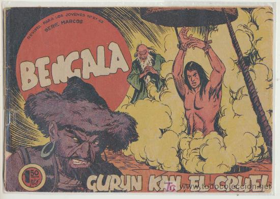BENGALA Nº 42. (Tebeos y Comics - Maga - Bengala)