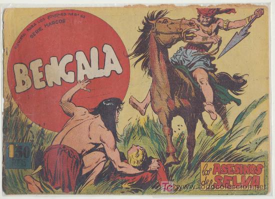 BENGALA Nº 21. (Tebeos y Comics - Maga - Bengala)