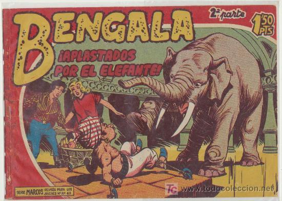 BENGALA 2ª Nº 5. (Tebeos y Comics - Maga - Bengala)