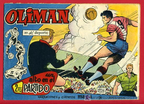OLIMAN , AS DEL DEPORTE , EDITORIAL MAGA ORIGINAL , Nº 26 (Tebeos y Comics - Maga - Oliman)