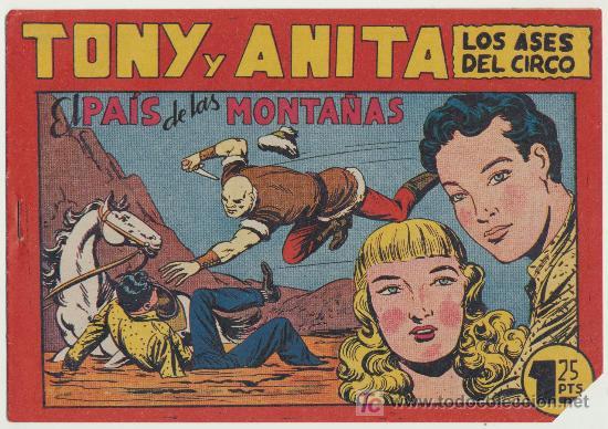 TONY Y ANITA Nº 72. SIN ABRIR (Tebeos y Comics - Maga - Tony y Anita)
